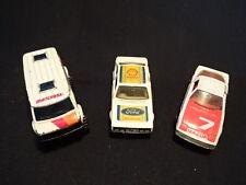 Matchbox Toy LOT Racing Chevy Van, 9 Ford Escort Shell Race Car, & Maxda RX7