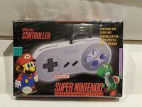Nintendo Super NES (SNS102) Gamepad - New/Sealed with Shelf Tab - RARE