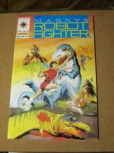 Magnus Robot Fighter # 12 Valiant - May 1992 1st Turok in Valiant Universe  ZCO0