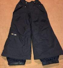 BONFIRE BALANCE Snow Ski Pants Youth Boy's Kids Size XS XSMALL Black
