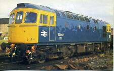 Type 3 Diesel Locomotive Class 33 33062 Fratton Portsmouth 1970s OPC Postcard