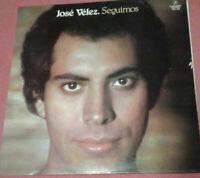 Jose Velez / Seguimos / LP Vinyl Album 1978 mit Schutzhülle Klappcover Gatefold