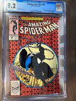 Amazing Spiderman #300 CGC 9.2 White Pages