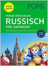 NEU: PONS Power-Sprachkurs RUSSISCH lernen - Der Intensivkurs für Anfänger