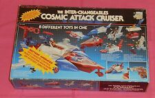 vintage INTER-CHANGEABLES COSMIC ATTACK CRUISER EMPTY BOX only