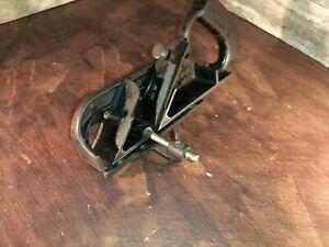 Vintage Stanley No.78 Plane,Pat.6-7-10,Old Woodworking Tool Rabbet Fillester NR