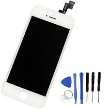 For iPhone 5S LCD Digitizer Touch Screen Replacement White - Genuine Original IC