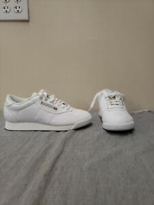 NEW Reebok Women's Princess Casual Shoes White 6.5M Walking FS Benefits Charity