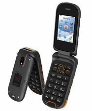 Rugged Flip Phone 4G GSM Unlocked Water Proof Shock Proof IP68 Military Grade...