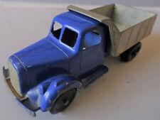 Old Tootsietoy 1947 Mack L-Line Dump Truck Blue