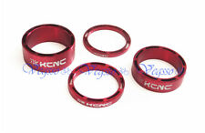 NEW KCNC HEADSET SPACER SET 3-5-10-14MM  AL6061 HOLLOW DESIGN, RED