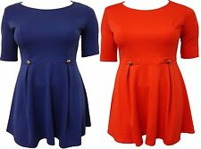 Unbranded Polyester 3/4 Sleeve Tunic Dresses for Women