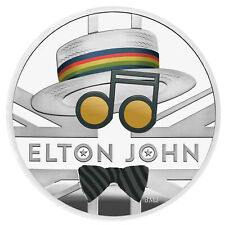 Presale 1 Ounce Silver Proof Music Legends - Elton John 2 £ UK 2020 Royal Mint