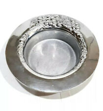 New listing GREAT WILTON ARMETALE RWP PEWTER GRAPES & LEAVES WINE BOTTLE COASTER