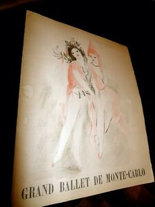MARIE LAURENCIN;ORIGINAL LITHOGRAPH;S;BALLET PROGRAM;PHOTOS;FRENCH;DANCE;LISTED