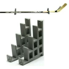 ICE HOCKEY STICK HANGER BRACKETS BOBBIN DISPLAY RACK WALL MOUNT TAB CASE BIN NEW