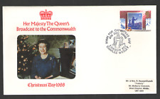 Cover GB Photo QUEENS BROADCAST TO THE COMMONWEALTH 1988 25/12/88 London EC1 SHS