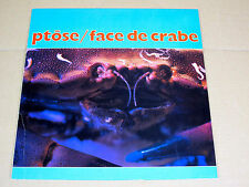 LP Ptôse / Face de crabe / Original 1986 Eksakt 022 NL / french synth pop exp