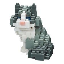 NanoBlock Gato ragdoll (140 piezas) PUZLE CON Mini Ladrillos NUEVO nbc-215
