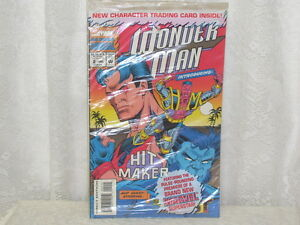 1993 Trading Card Marvel Comics Wonder Man w/ Hitmaker NIP