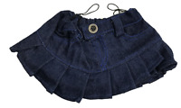 "Denim Skirt Teddy Bear Clothes - Fits Most 14""-18"" Build-a-Bear & More"