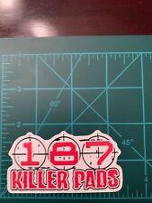 187 Killer Pads 3� Vinyl Skate Skateboard Sticker Laptop Cell Phone Decal A