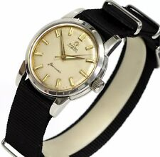 Military Vintage Swiss Made Omega Bumper Automatic 20 Jewels Men's Watch Cal.501