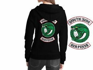 Riverdale South Side Serpents Black Women Hooded Jughead Jones Archie Andrews