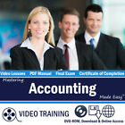 Learn ACCOUNTING Training Tutorial DVD-ROM & Digital Guide Small Business Course