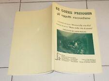 ES COZES PREIQUEN Catalogo Museo COLLETTO DI CASTELMAGNO Occitano Valdesi