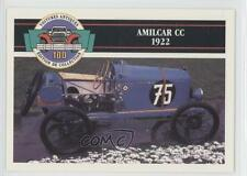 1991 Panini Voitures Antiques Edition de Collection 100 #23 Amilcar CC 1922 0b6