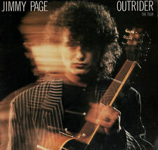 JIMMY PAGE 1988 OUTRIDER TOUR CONCERT PROGRAM BOOK / LED ZEPPELIN / EX 2 NMT