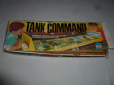 BOXED VINTAGE BOARD GAME IDEAL TANK COMMAND 1975 W BOX ARMOR BATTLE WAR