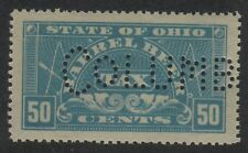 OHIO State Revenue Beer Tax Stamp SRS OH B57S