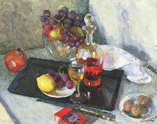 Peintures du XXe siècle et contemporaines huiles encadrés nature morte