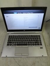 "HP Elitebook 8460p 14"" Core i7-2620M  2.7GHz 8GB/320GB Webcam Linux Laptop + AC"