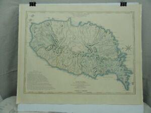 Decorative Map of Grenada