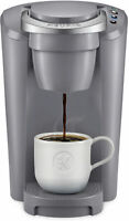 Keurig K-Compact Single Serve K-Cup Pod Coffee Maker Moonlight Grey Home/Office
