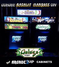Arcade1up Galaga Backlit Marquee Kit for Arcade1up Cabinets - Green with Bonus!