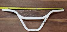 white old bmx dyno compe detour handlebars pro freestyle bike gt performer cw 88