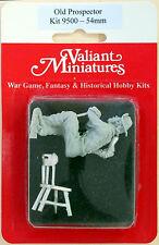 Valiant Miniature 54mm Hobby Kit# 9500 - Prospector - Resin
