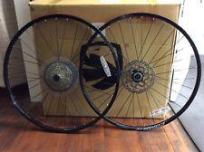 Merida Big Nine Comp CC 29er wheels wheelset with rotors and XT M8000 cassette