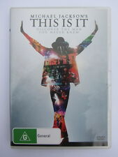 MICHAEL JACKSON'S THIS IS IT - DVD Documentary - VGC