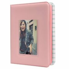 Polaroid 64-Pocket Photo Album w/Window Cover For 2x3 Photo Paper - Pink