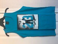 NIKE Air Jordan Boys Sleeveless Shirt Tank Top Turquoise Size L Style 952768-U40