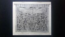 Pettorale d'Amenemhat III Incisione del 1894