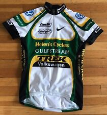 MEN'S NIKE TREK HELEN'S VOLKSWAGEN POWERBOAT BONTRAGER CYCLING JERSEY SZ SMALL