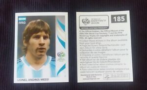 Panini World Cup Stickers #185 Lionel Messi FIFA WC 2006 Germany Perfect