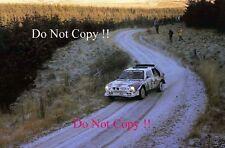 MARKKU ALEN MARTINI LANCIA DELTA S4 RAC Rally 1985 fotografia 1