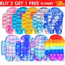 for Push Pop Fidget Kids Toy It Bubble Special Needs Silent Sensory 、